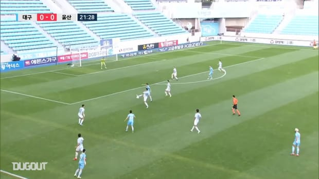 Daegu 2-2 Ulsan: Park Han-bin goal provides title race twist