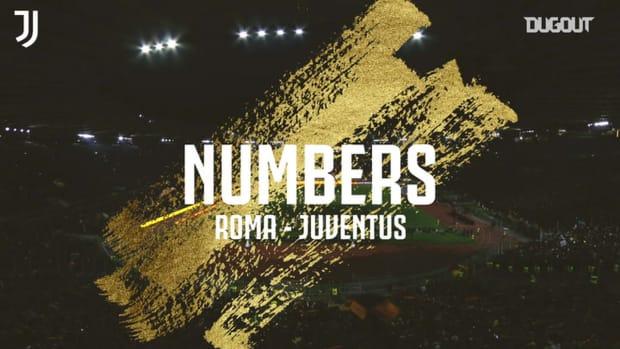 The stats behind AS Roma vs Juventus