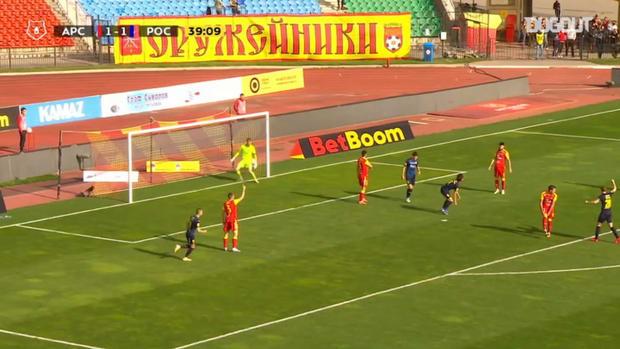 Kento Hashimoto's brace leads Rostov over Arsenal Tula