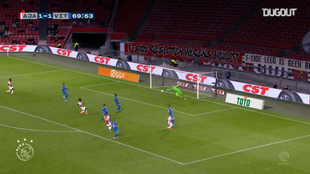 Antony nets winner in Ajax's victory over Vitesse