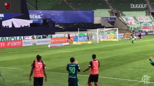 Flamengo draw against Palmeiras at Allianz Parque