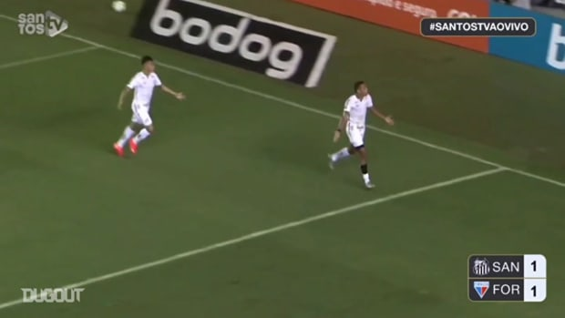 Santos draw against Fortaleza at Vila Belmiro