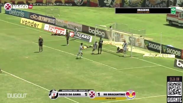 Vasco draw against Bragantino at São Januário