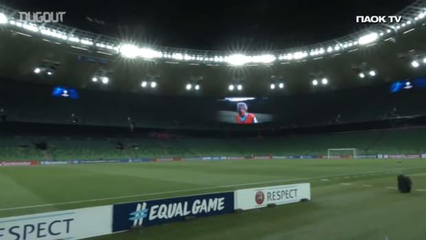 Behind the scenes of PAOK's travel to Krasnodar