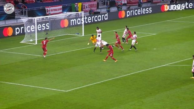 Goretzka and Martínez secure Super Cup victory over Sevilla