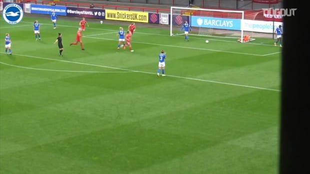 Brighton Women fall to FA Cup quarter-final defeat vs Birmingham