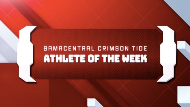 Crimson Tide Athlete of the Week Logo