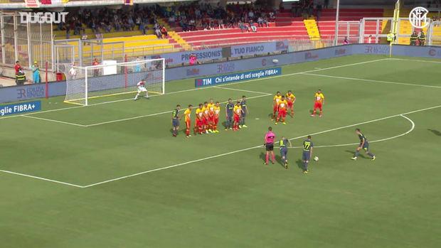 Marcelo Brozovic's brace Vs Benevento