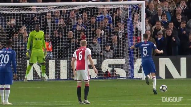 Jorginho's best moments for Chelsea