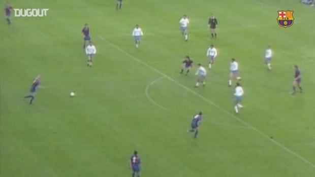 Johan Cruyff dream team's best ever goals