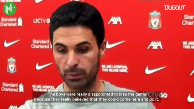 Arteta praises Lacazette's performance and gives transfer update