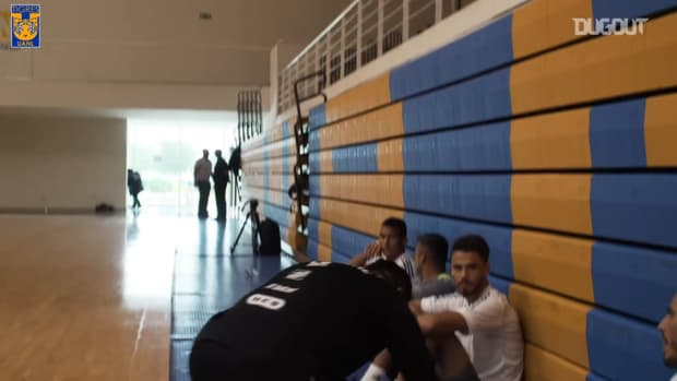 Behind the scenes: Tigres's futsal session