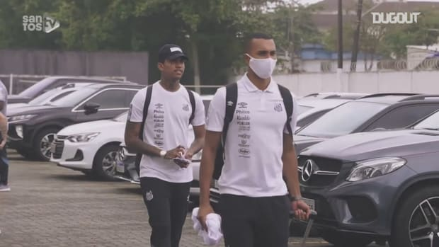 Santos travel to Paraguay to face Olimpia