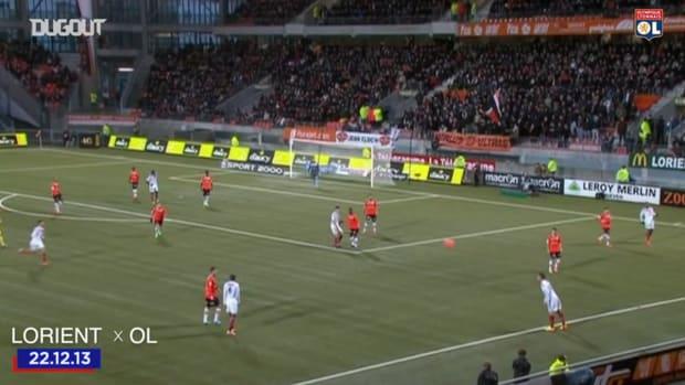 Lyon's best goals at Lorient