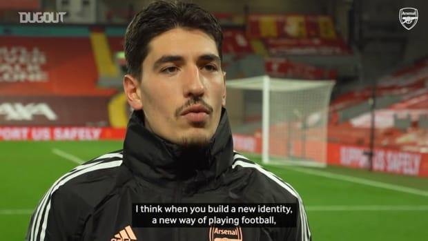Héctor Bellerín: We are building an identity at Arsenal
