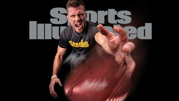 T.J. Watt on October 2020 cover of Sports Illustrated
