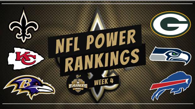 Power Rankings Week 4