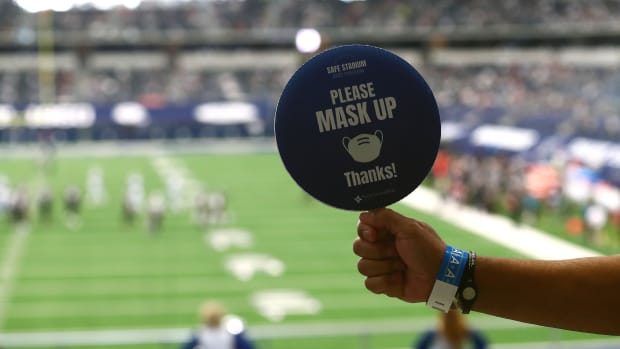 The NFL is reportedly threatening suspensions and forfeiting draft picks if mask protocols are not followed.