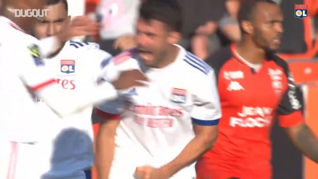 Léo Dubois great goal vs Lorient