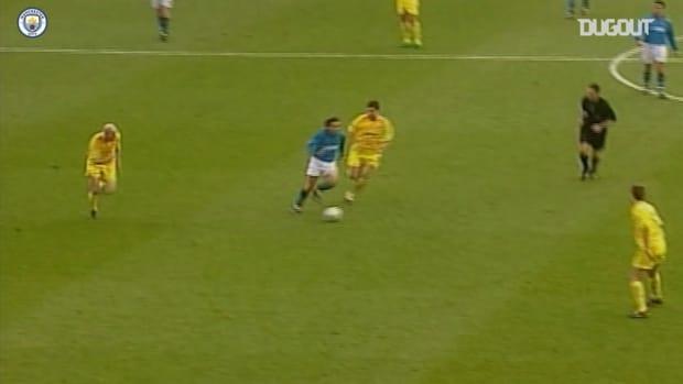 Manchester City's last Premier League victory over Leeds United