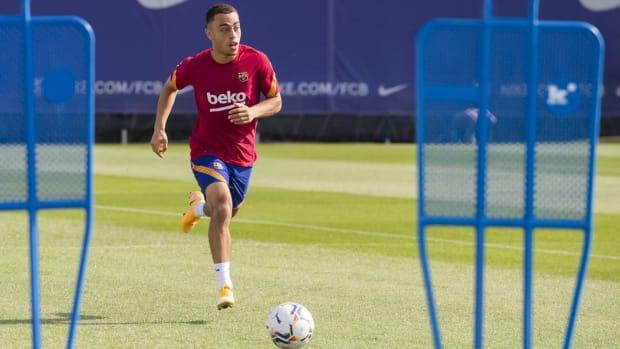 Sergino-Dest-Barcelona-Training
