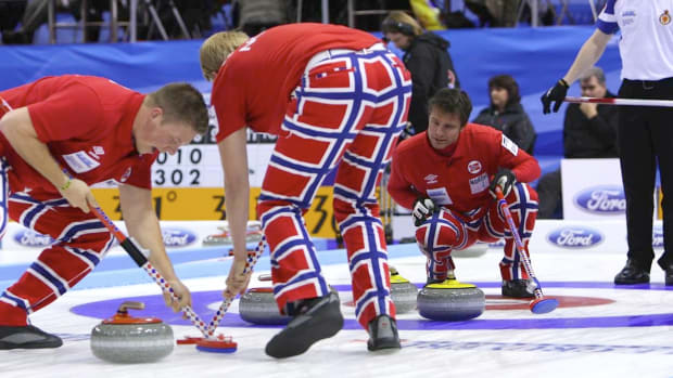 The Pants battled Scotland early in Basel