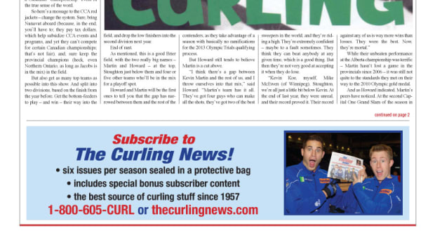 London curling, see we ain't got no swing