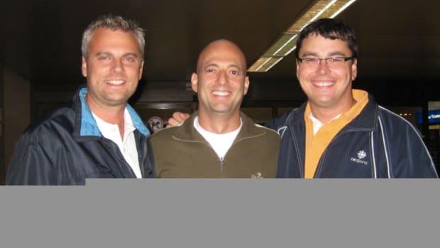L to R: Chad, Fabio Coelho of Ginga,brasilis and Mark