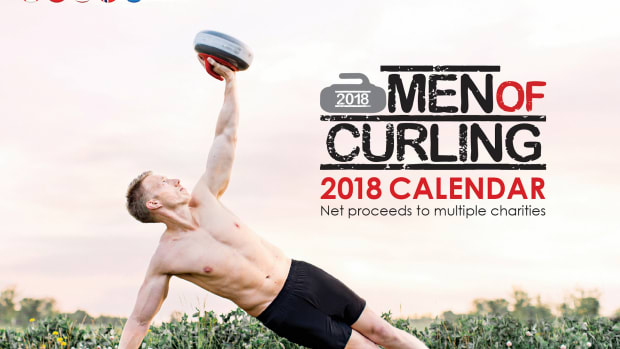 Look up... way up... it's another amazing Men of Curling Calendar – supporting 13 different charitable causes!
