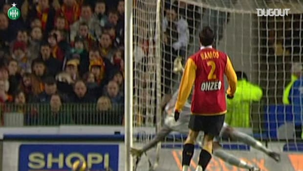Saint-Etienne's epic draw at Lens in 2007