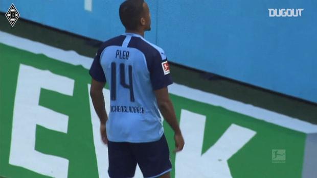 Pléa secures derby glory for Monchengladbach