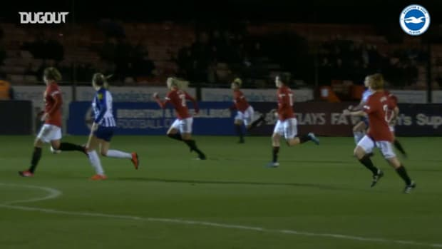 Brighton Women secure point against Manchester United