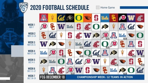 Pac-12 releases schedule and UW opens at Cal.