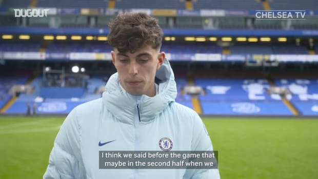 Havertz discusses Palace win and adaptation from Germany