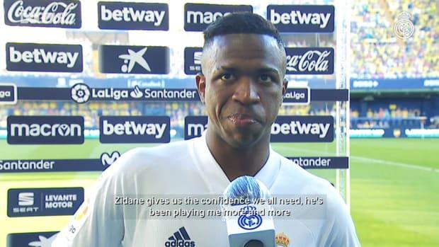 Vinicius Jr.: 'I'm feeling confident this season'