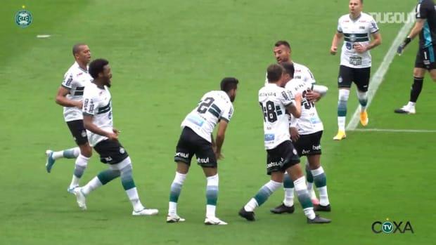 Coritiba draw against São Paulo at Couto Pereira