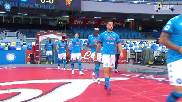Napoli thrash Genoa 6-0