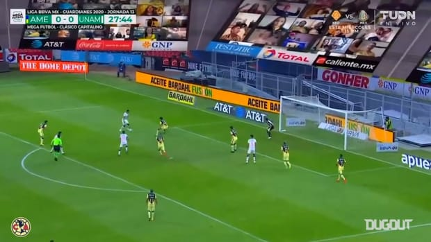 Club América's 2-2 draw vs Pumas