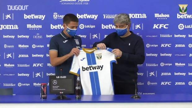 Sergi Palencia joins CD Leganés