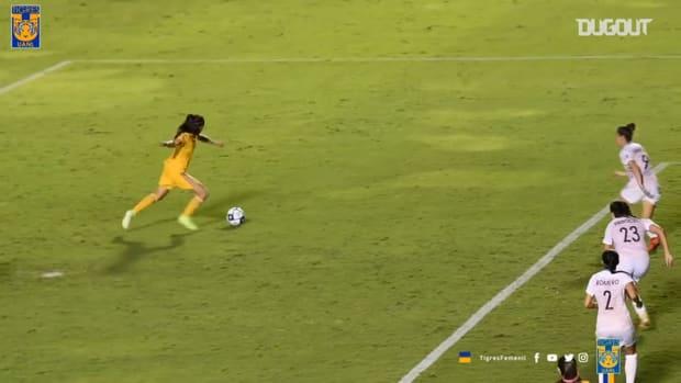 Tigres Femenil's historic game against Houston Dash