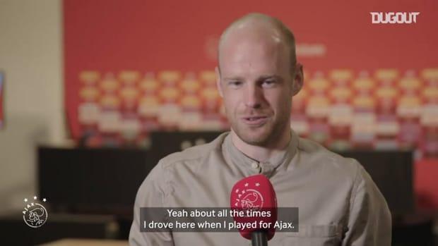Davy Klaassen on his emotional return to Ajax