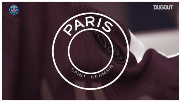 Paris Saint-Germain presents their new Jordan jersey