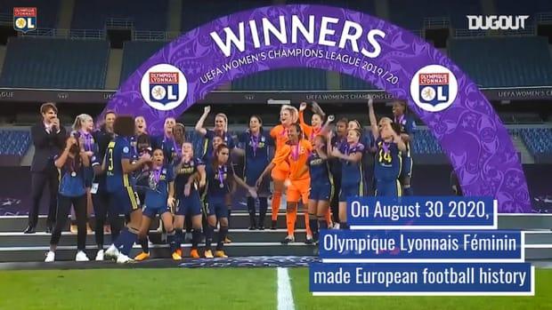 OL Women's five successive Champions League titles