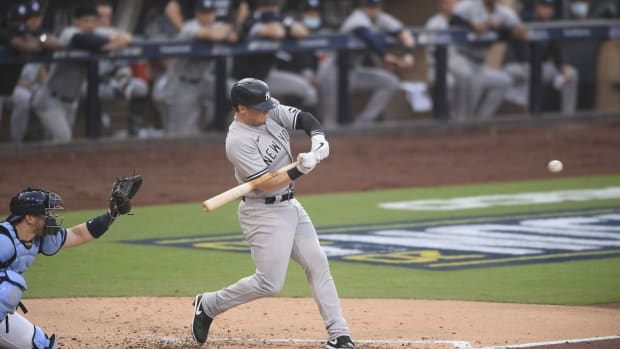Clint Frazier hits home run off Blake Snell in ALDS