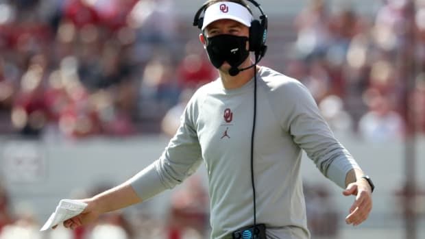 Lincoln Riley - mask