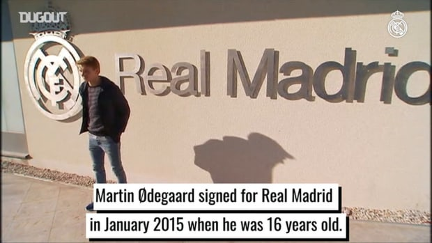 Martin Ødegaard journey with Real Madrid