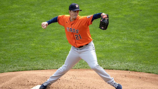 The Houston Astros are hopeful that Zack Greinke can return during the playoffs.