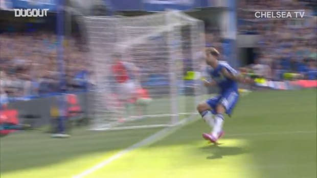 Fabregas finds Costa with superb assist vs Arsenal