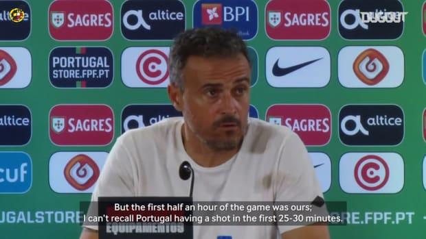 Luis Enrique assesses Spain's goalless draw against Portugal
