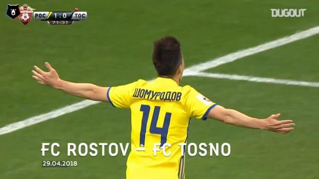 Eldor Shomurodov's best goals in the Russian Premier League